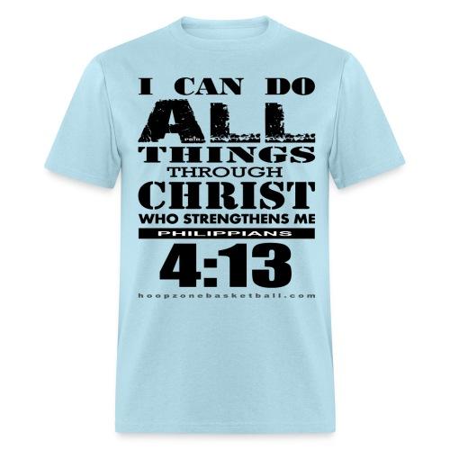 I Can Do All Things w/dark art - Men's T-Shirt