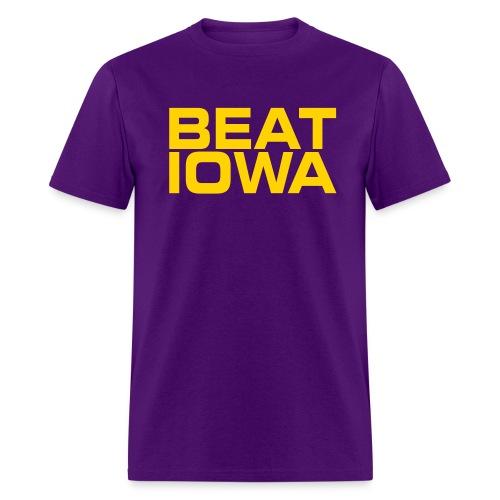 BEAT IOWA - Men's T-Shirt