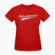 Team Polyamory Polyamorous and Proud Women's T-Shirts