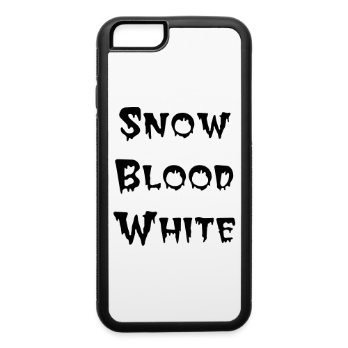 Snow Blood White iPhone Case - iPhone 6/6s Rubber Case