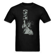 T-Shirts ~ Men's T-Shirt ~ WikiLeaks Statue of Liberty