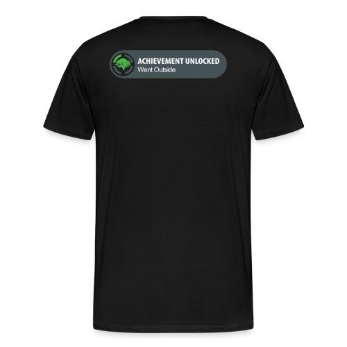 Achievement Unlocked Going Out Side - Men's Premium T-Shirt