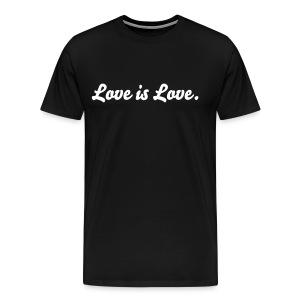 Men's Love is Love Original Tee - Men's Premium T-Shirt