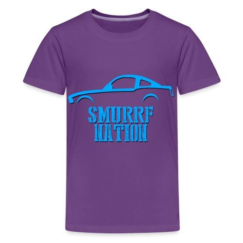Smurrf Nation Kids! - Kids' Premium T-Shirt