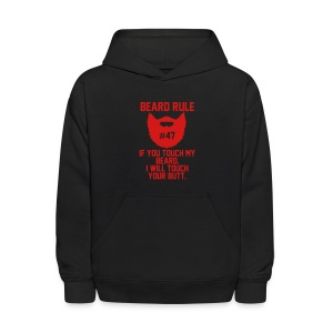 Beards and Butts - Kids' Hoodie