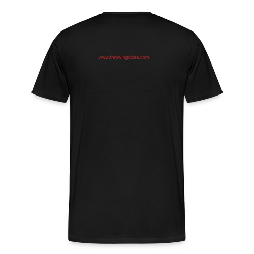 Throwing Dices Photography - Men's Premium T-Shirt