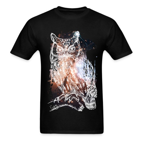 Mid Night owl - Men's T-Shirt