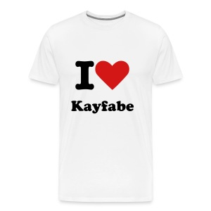 show your support for kayfabe - Men's Premium T-Shirt