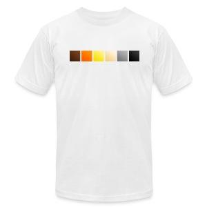 Bear Pride Squares - Men's Fine Jersey T-Shirt