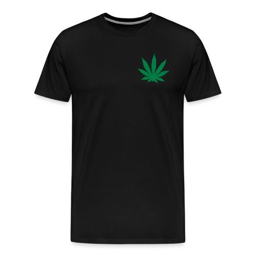 Marijuana Leaf- Mens T-Shirt - Men's Premium T-Shirt