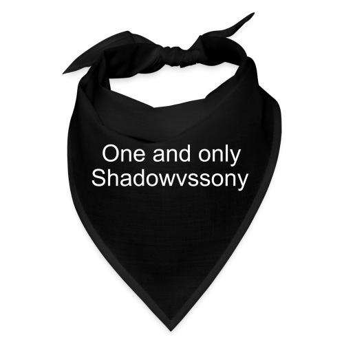 One and only Shadow bandanna - Bandana