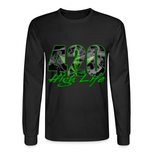 420 - Mens Long Sleeve T-Shirt - Men's Long Sleeve T-Shirt