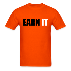 earn it orange