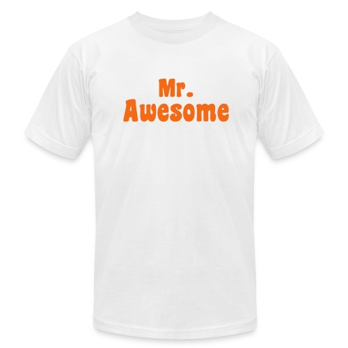 MR. AWESOME - Men's Fine Jersey T-Shirt