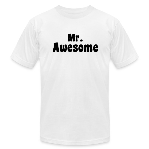 MR. AWESOME - Men's  Jersey T-Shirt