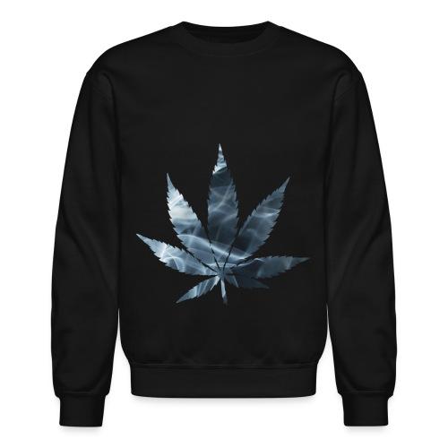 Marijuana Leaf - Crew Neck  - Crewneck Sweatshirt