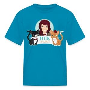 MKtheCatLady (Kids) - Kids' T-Shirt