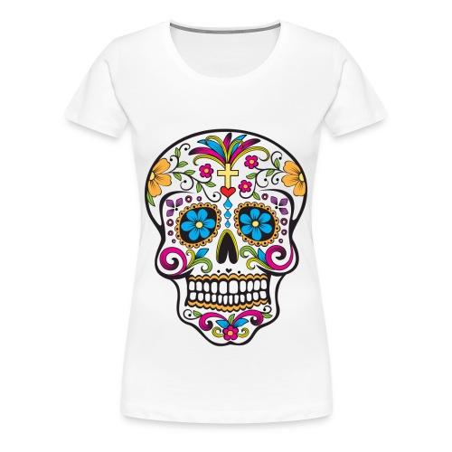 Sugar Skull T - Womens - Women's Premium T-Shirt