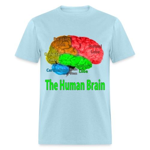 The Human Brain - Men's T-Shirt