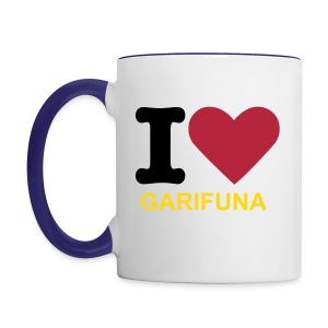 I Love Garifuna Coffee Mug - Contrast Coffee Mug