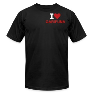 I Love Garifuna Female Sport Tee - Men's Fine Jersey T-Shirt