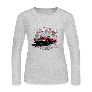 Women's Long Sleeve Jersey T-Shirt | 58 Corvette | Classic American Automotive - Women's Long Sleeve Jersey T-Shirt