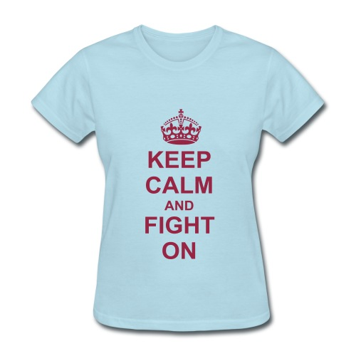 Keep Calm (Women's) - Women's T-Shirt