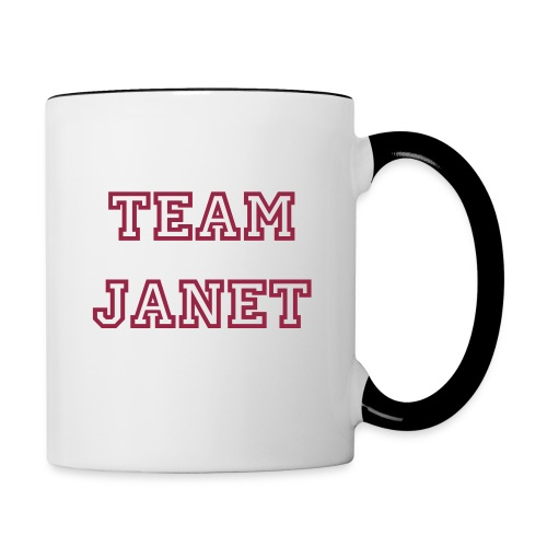 Team Janet Coffee Mug - Contrast Coffee Mug