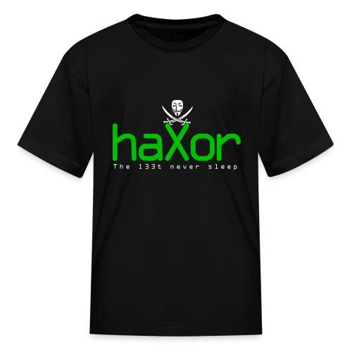 HaXor T-shirt (Kids) - Kids' T-Shirt