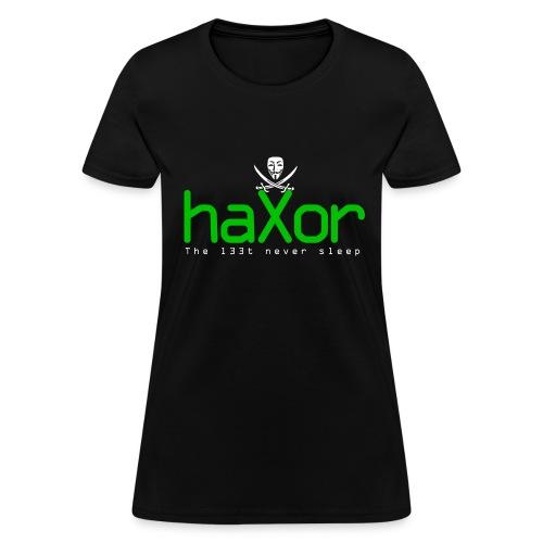 HaXor T-shirt (Womens) - Women's T-Shirt
