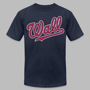 Great Wall of DC - John Wall - Men's T-Shirt by American Apparel