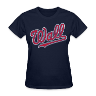 Women's T-Shirts ~ Women's T-Shirt ~ Great Wall of DC - John Wall