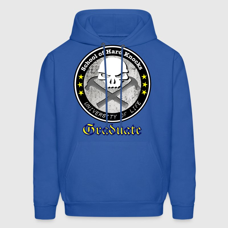 School of Hard Knocks University of Life - Men's Hoodie