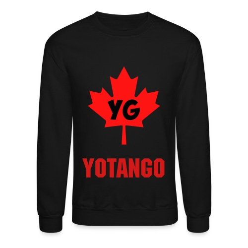 Men's Yotango Crewneck (Black Text) - Crewneck Sweatshirt