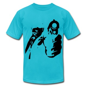 Stick Up - Men's T-Shirt by American Apparel