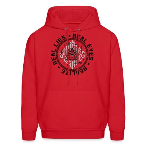 Real Eyes illuminati hoodie - Men's Hoodie