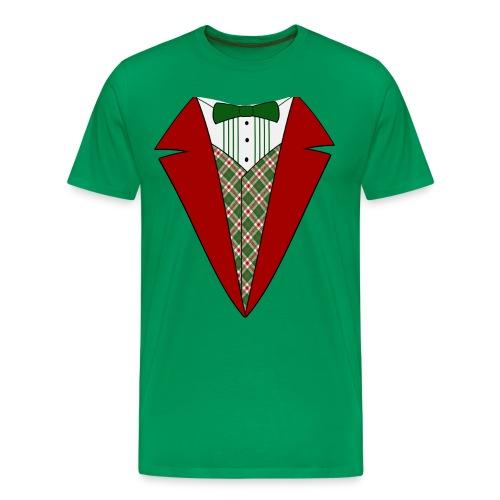 MY CHRISTMAS TUXEDO TEE - Men's Premium T-Shirt