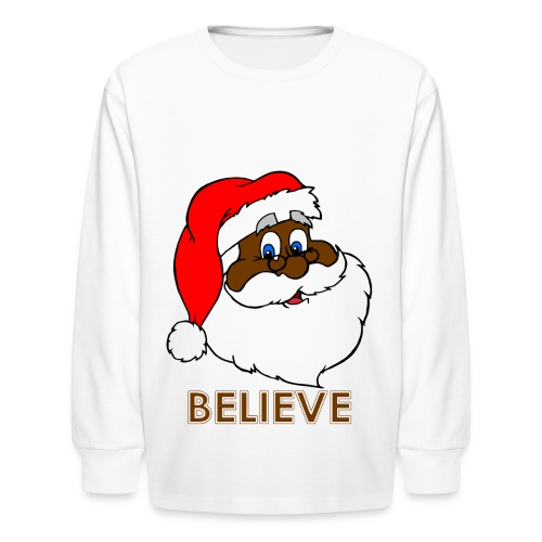 Belive in Santa - Kids' Long Sleeve T-Shirt