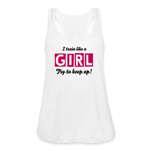 Try to Keep Up Tank - Women's Flowy Tank Top by Bella