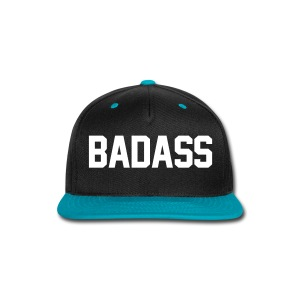 BADASS Snapback - Snap-back Baseball Cap