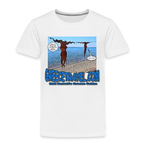 Octopus (kids) - Toddler Premium T-Shirt
