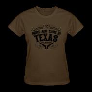 T-Shirts ~ Women's T-Shirt ~ CATI Western