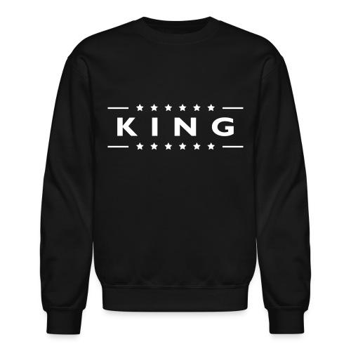 King Sweatshirt - Crewneck Sweatshirt