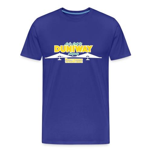 Duniway Anyway - Men's Premium T-Shirt