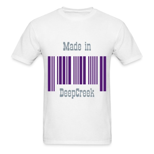 Men's T-Shirt - Made for residents of Deep Creek area