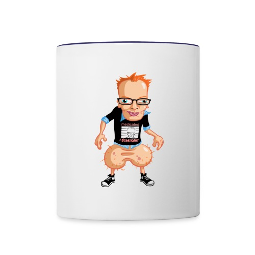 Medicated Pete Coffee Mug - Contrast Coffee Mug