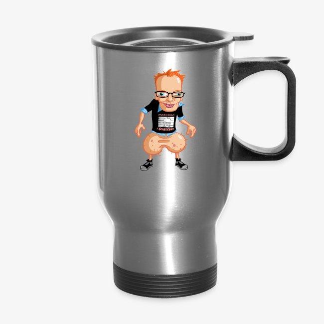 Medicated Pete Travel Mug