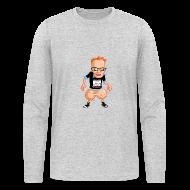 Long Sleeve Shirts ~ Men's Long Sleeve T-Shirt by American Apparel ~ Medicated Pete Long Sleeve T - American Apparel