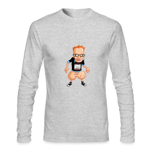 Medicated Pete Long Sleeve T - American Apparel - Men's Long Sleeve T-Shirt by Next Level