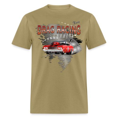 Drag Racing Chevrolet Chevelle T-Shirts - Men's T-Shirt